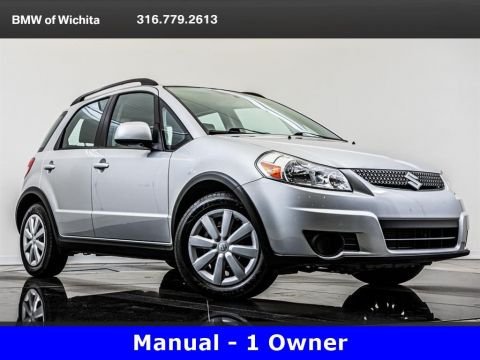 Pre-Owned 2011 Suzuki SX4 1-Owner, Manual