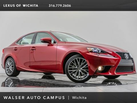 Pre-Owned 2014 Lexus IS 250 AWD, Navigation, 18-Inch Wheels