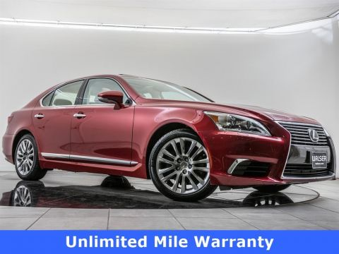 Pre-Owned 2016 Lexus LS 460 Unlimited Mile Warranty, 19-inch Wheels