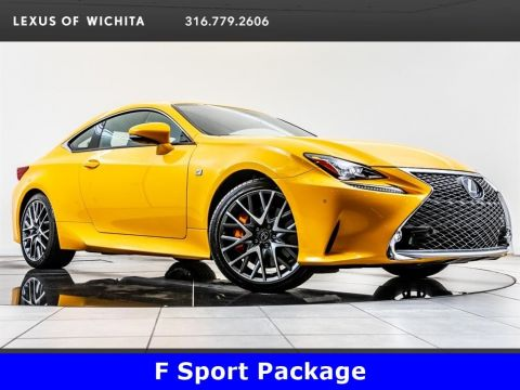 Pre-Owned 2018 Lexus RC F-Sport, Navigation
