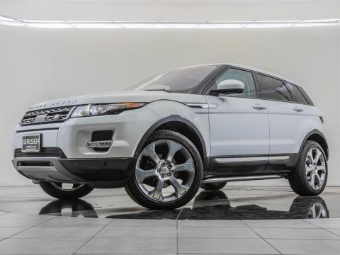 Pre-Owned 2015 Land Rover Range Rover Evoque Factory Wheel Upgrade, Navigation, Prestige