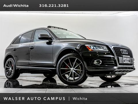 Pre-Owned 2016 Audi Q5 2.0T Premium quattro, Upgraded 19-Inch Wheels