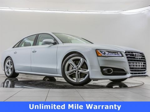 Pre-Owned 2018 Audi A8 L 2018 AUDI A8 L 3.0T (TIPTRONIC) (NO LONGER AVAILABLE FOR ORDERING) 4DR SDN AWD