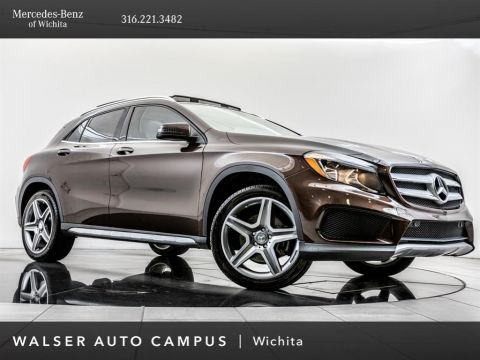 Pre-Owned 2015 Mercedes-Benz GLA GLA 250 4MATIC, AMG® Wheels, Burmester, Pano Roof
