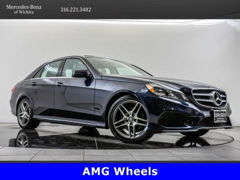 Pre-Owned 2016 Mercedes-Benz E-Class E 350 Sport 4MATIC, 18-Inch AMG® Wheels, Sport Pkg