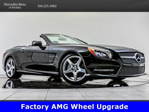 Pre-Owned 2015 Mercedes-Benz SL SL 400, 19-Inch AMG® Wheels