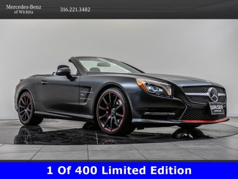 Pre-Owned 2016 Mercedes-Benz SL SL 550, Mille Miglia Edition 1 of 400