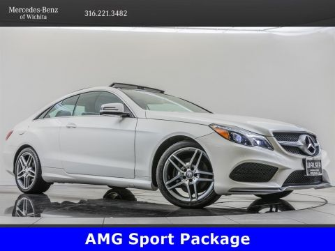 Pre-Owned 2017 Mercedes-Benz E-Class E 400 4MATIC, AMG® Sport Package, AMG® Wheels