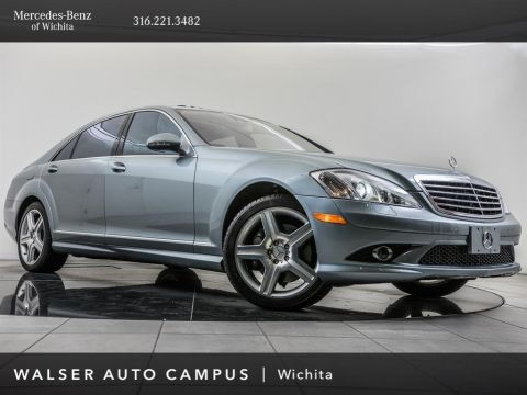 Pre-Owned 2008 Mercedes-Benz S-Class S 550 4MATIC, 19 AMG® Wheels, Night View Assist