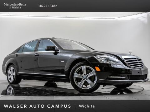 Pre-Owned 2012 Mercedes-Benz S-Class S 550 4MATIC®, Navi, Sunroof, RV Cam, PARKTRONIC