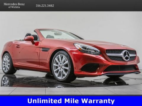 Certified Pre-Owned 2017 Mercedes-Benz SLC SLC 300, AMG® Performance Exhaust