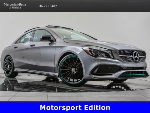 Pre-Owned 2017 Mercedes-Benz CLA CLA 250 4MATIC, Motorsport Edition, AMG® Wheels