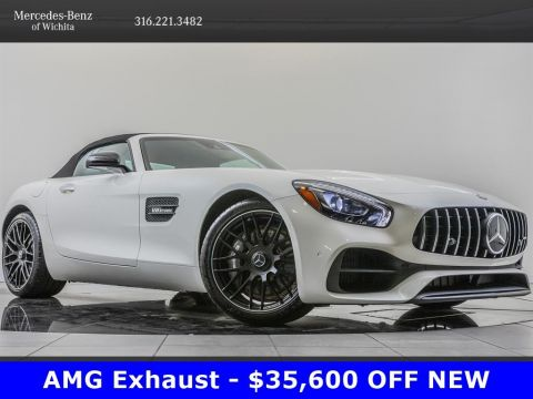 Pre-Owned 2019 Mercedes-Benz GT Factory Wheel Upgrade, AMG® Performance Exhaust