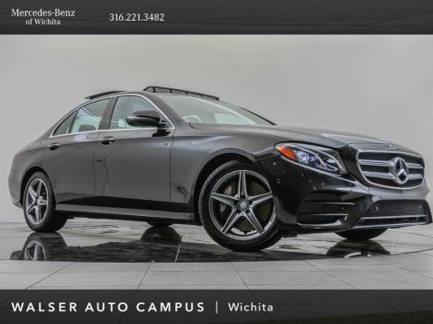 Pre-Owned 2017 MERCEDES-BENZ E-Class E 300 Sport 4MATIC, AMG® Sport Package, Premium 1