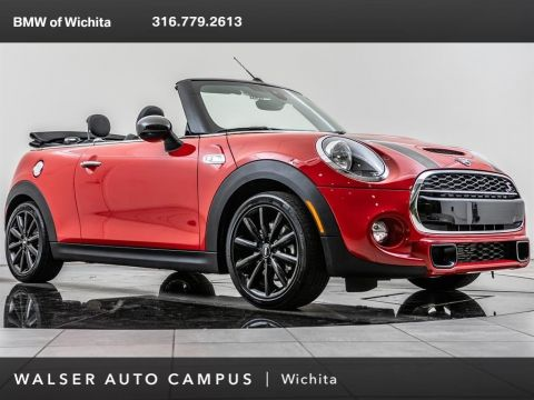 Pre-Owned 2019 MINI Convertible Cooper S, 17 Cosmos Whls, RV Cam, Park Dist Cont