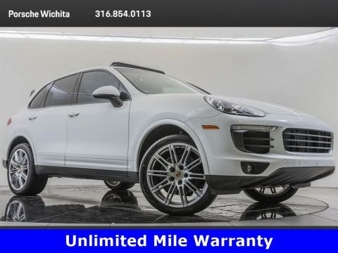 Pre-Owned 2018 Porsche Cayenne Factory Wheel Upgrade, Premium Package