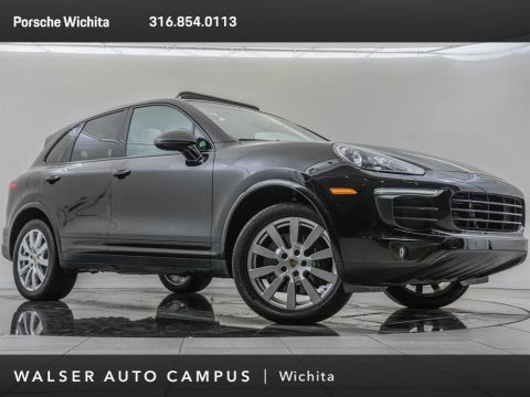 Pre-Owned 2017 Porsche Cayenne Factory Wheel Upgrade, Premium Package