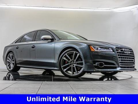 Pre-Owned 2017 Audi S8 plus plus quattro, Driver Assistance Package
